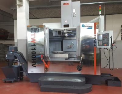 CNC TW1100HV - in funzione da un anno presso produttore di particolari meccanici conto terzi